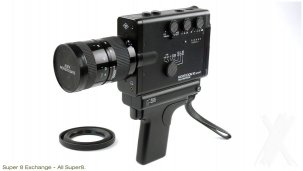 Agfa 10 Moviexoom Sound - Super8 Camera {JPEG}