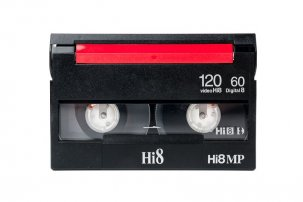 Cassette Vidéo 8mm : Video8 ; Hi8 ; Digital8 {JPEG}