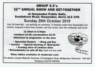 58th Group9.5 Annual Get-Together @ Harpenden {JPEG}