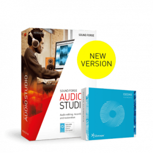 Sound Forge Audio Studio 12 - Magix {PNG}
