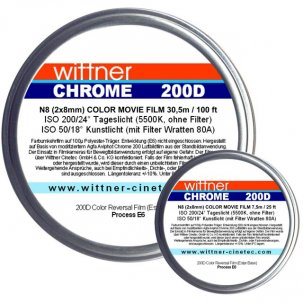 07 - Wittner Chrome 200D Agfa Aviphot - Film Inversible Couleur N8 - Double8 {JPEG}