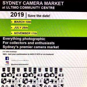 Sydney Camera Market March 2019 @ Sydney, NSW {JPEG}