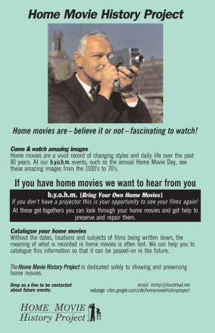 Home Movie History Project - Home Movies Day 2019 @ Toronto, Ontario - Canada {JPEG}