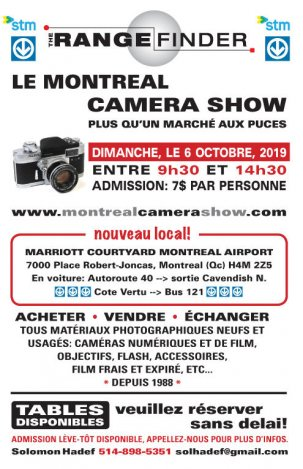 65th Montreal Camera Show 2019 {JPEG}